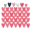 Sizzix Thinlits Die Set 7PK - Card Front, Hearts w/Layering S 660107 Me & You by Sizzix Designer