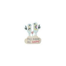 Sizzix Thinlits Die Set 2PK - Happy Birds 660497 Craft Asylum ( 5-15 )