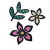 Sizzix Thinlits Die Set 3PK - Intricate African Florals 660498 Craft Asylum ( 5-15 )