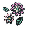 Sizzix Thinlits Die Set 4PK - Intricate Native Florals 660499 Craft Asylum ( 5-15 )