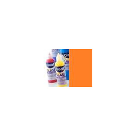 1 FL (1 FL) Glass - glasstickerverf oranje rood 80 ML