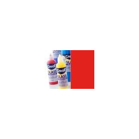 1 FL (1 FL) Glass - glasstickerverf rood 80 ML