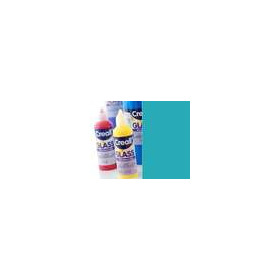 1 FL (1 FL) Glass - glasstickerverf turquoise 80 ML