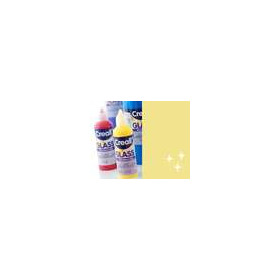 1 FL (1 FL) Glass - glasstickerverf glittergoud 80 ML