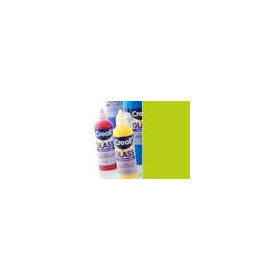 1 FL (1 FL) Glass - glasstickerverf neongroen 80 ML