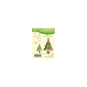 Doodle Clear stamp Christmas tree