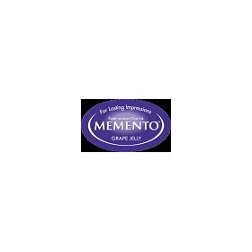 MD-000-500 Memento Inkpad Dewdrops Grape jelly