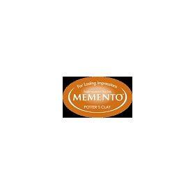MD-000-801 Memento Inkpad Dewdrops Potter`s clay