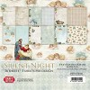 Silent Night Small Paper Pad 6x6, 36 sheets