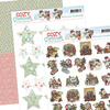 3D SET - Yvonne Creations - Cozy Christmas - Minis & Labels