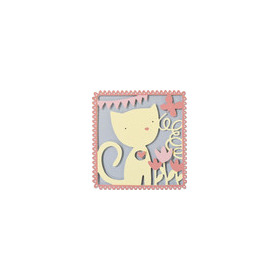 Sizzix® Thinlits™ Die - Playful Kitten 660870 My Kind of Happy (09-15)