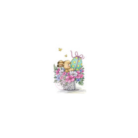 Wild Rose Studio's A7 stamp set Easter Bunny CL486 (new 12-2015)