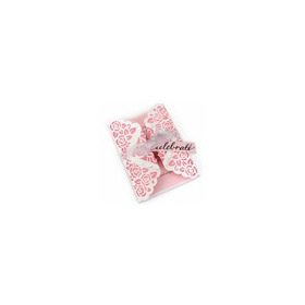 Sizzix Thinlits Die - Card, Rose Lace Gatefold 660751 Sharyn Sowell (02-16 )