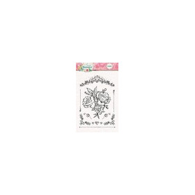 Studio Light Clearstempel A6 Sweet Romance nr 128 STAMPSR128 (new 03-16)