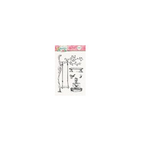 Studio Light Clearstempel A6 Sweet Romance nr 129 STAMPSR129 (new 03-16)