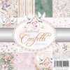 Wild Rose Studio's 6x6 Paper Pack Scattered Confetti a 36 VL PP048