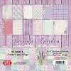 CPB-LG15 Small Paper Pad 6x6, 36 sheets LAVENDER GARDEN