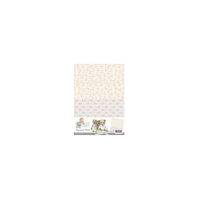 Amy Design - Baby Collection -  background sheets 1
