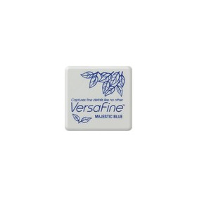 Versafine ink pads small Majestic blue