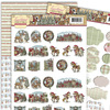 3D SET - Yvonne Creations - Traditional Christmas - Minis & Labels