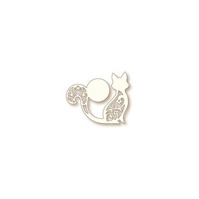 Wild Rose Studio`s Specialty die - Cat and Moon SD070