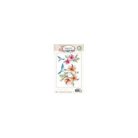 Studio Light Clearstempel A6 Romantic Summer nr 145 STAMPRS145 (07-16)