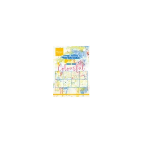 Marianne D Paper pad Tiny`s Mixed Media - Colourful PK9140 (09-16)
