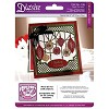 Crafter`s Companion Diesire Christmas 5x5 `Create-a-Card` Metal Die - Deck the Halls Die