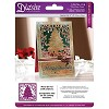 Crafter`s Companion Die`sire Christmas 5x5 `Create-a-Card` Metal Die - Christmas Che
