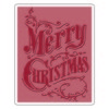 Sizzix Text.Fad.Emb.Fold.- Christmas Scroll 661609 Tim Holtz (09-16)