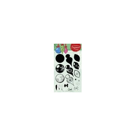 Studio Light Layered Clearstempel Christmas A5 nr 08 STAMPLS08 (11-16)