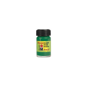 Decormatt acryl 15 ml - Sapgroen