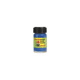 Decormatt acryl 15 ml - Middenblauw
