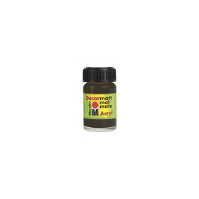 Decormatt acryl 15 ml - Donkerbruin