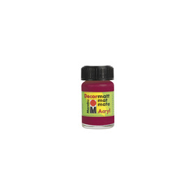 Decormatt acryl 15 ml - Granaatappelrood