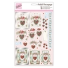Foiled Decoupage - With Love