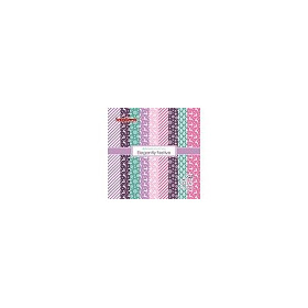 ScrapBerry`s Elegantly Festive Paper Set 6x6 Inch One Sided (24 Sheets Per Pack)