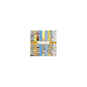 ScrapBerry`s Zoe & Ziggy`s Sailing Adventures Set 6x6 Inch One Sided (24 Sheets Per Pack) (S