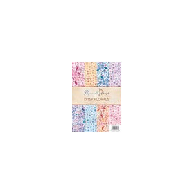 Wild Rose Studio's A4 Paper Pack Ditsy florals a 40 VL PH002 (01-17)