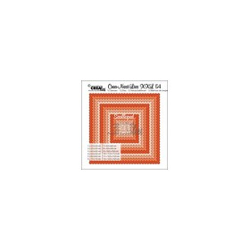 Crealies Crea-nest-dies XXL no. 54  scalloped squares max. 13,5x13,5 cm / XXL54 (02-17)
