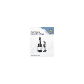 Clear stamps men things wine