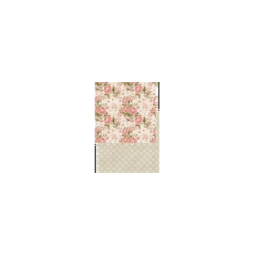 RP0199 Scrap dubbelzijdig 200gr 12x12 My Rose Garden Collection Felicity Big
