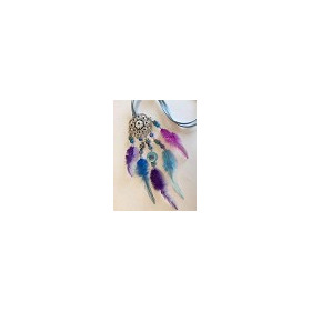 Hobby & Crafting Fun - Dream Catcher - Purple and Blue