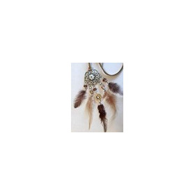 Hobby & Crafting Fun - Dream Catcher - Brown