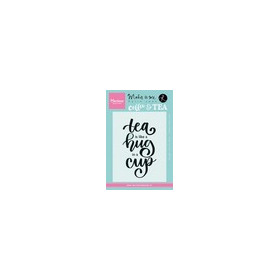 Marianne D Stempel Quote - Tea is like a hug in a cup (EN) KJ1710 9,0x13,5cm (04-17)