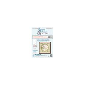 Spirella� 12 pre-cut circles 300 gr. 4 different sizes, white incl. instructions and 6 patterns