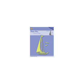 Shape Dies - Lene Design - Men things - Sailingboat