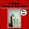 Crealies Create A Box Mini no. 06 Melkpak 105x125mm / CCABM06 (04-17)