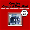 Crealies Create A Box Mini no. 07 Koffer 115x109mm / CCABM07 (04-17)