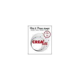 Crealies Clearstamp Bits&Pieces no. 70 43x43mm / CLBP70 (04-17)